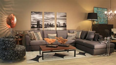 Sala escuadra en gris   Casa   Pinterest   Living rooms