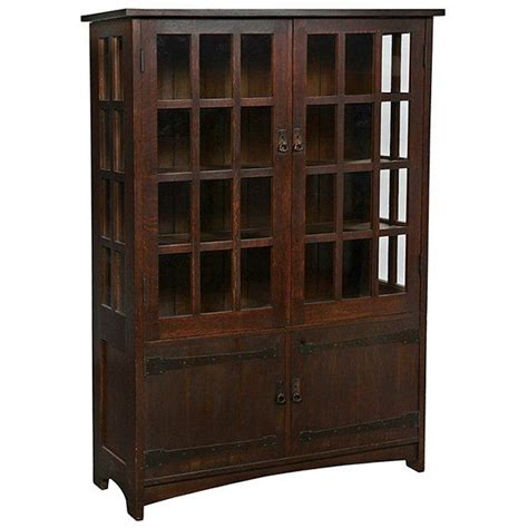 Stickley Cabinet by L Jg Stickley China Cabinet No 729 Desirable Form