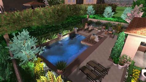 3d landscape design virtual presentation studio presents 3d pool design virtual presentation studio youtube