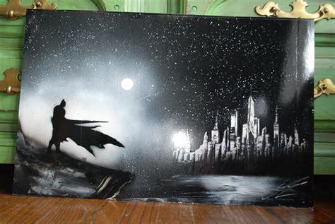 spray paint batman batman poster spray paint new york skyline by