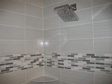 Modern Tile For Bathroom Modern Bathroom With White Tile Contemporary Bathroom Other Metro By Alfano Renovations