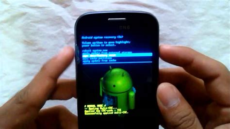 factory reset samsung q430 resetear hard reset samsung galaxy trend gt s7560m youtube
