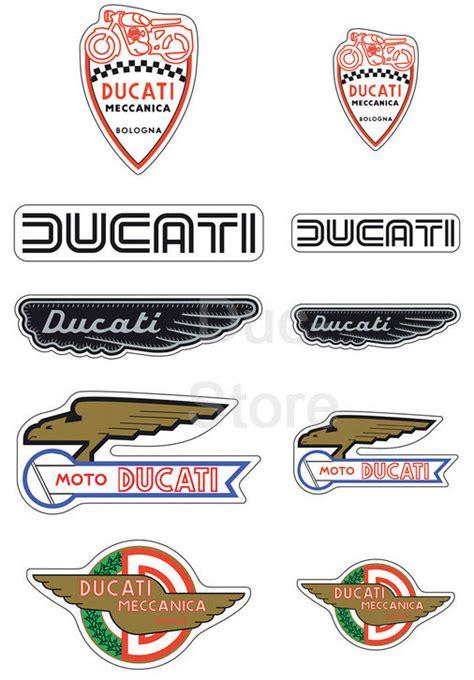 3d Aufkleber Shop by 3d Aufkleber Set Historical Der Ducati Store Ducati