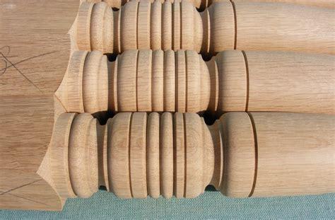 oak wood table legs table legs acorn woodturning