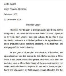 sample interview essays interview essay template 7 free samples examples best photos of template of interview written paper format