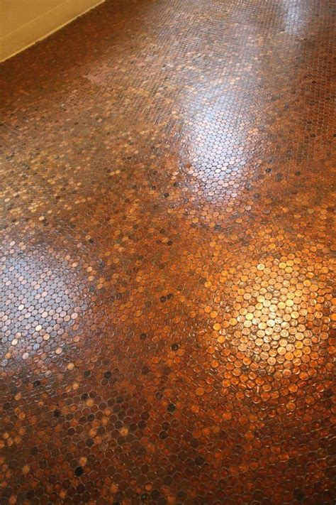 Best 20  Pennies Floor ideas on Pinterest   Penny flooring
