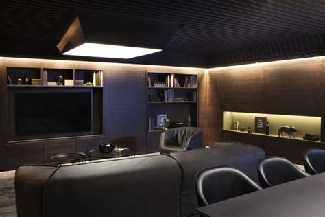 Bond Room by Arkwright Offices By Haptic Architects Oslo