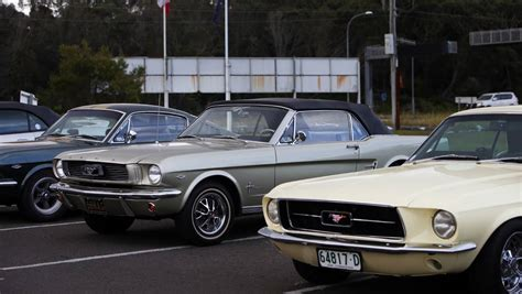 mustang club of australia mustangs on show in wollongong photos kiama independent