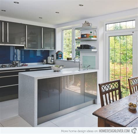 Image in toto kitchens extreme gloss fashions give this kitchen a