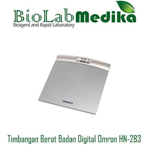 Timbangan Berat Badan Digital Surabaya timbangan berat badan digital omron hn 283 biolab medika
