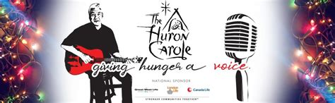 tom jackson huron carole 2018 tom jackson s the huron carole defeating hunger feeding