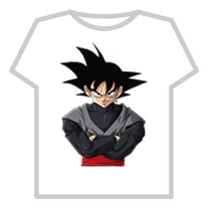 imagenes de goku roblox camiseta de goku black roblox