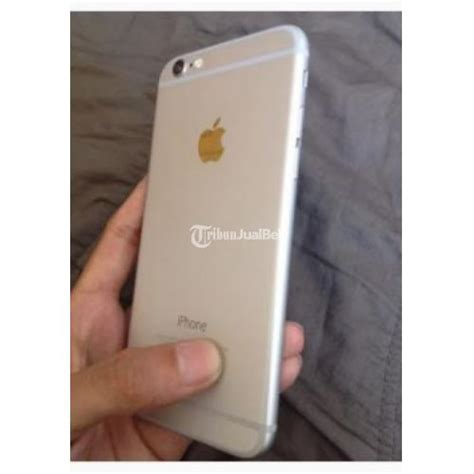 Handphone Apple Iphone 6 handphone apple iphone 6 64gb silver second mulus harga