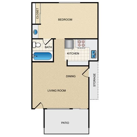 500 square feet apartment floor plan 500 square foot apartment 1thumb 500 sq ft apartment