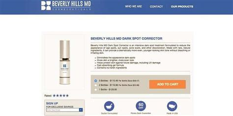 ratings of beverly hills md dark circle corrector beverly hills md dark spot corrector reviews does it