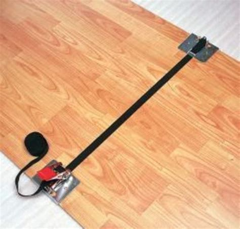 unika tension belts straps for wood floor installation