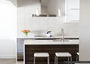 White Kitchen Glass Backsplash modern white glass subway backsplash tile