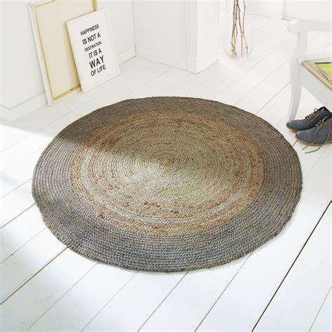 teppiche rund teppich rund beige hause deko ideen