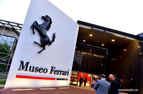 maranello italy ferrari museum in maranello n italy people s daily online
