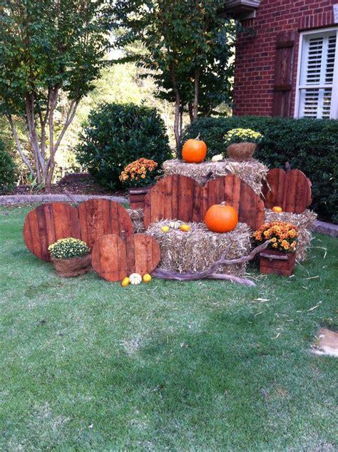 fall yard decor craft ideas pinterest