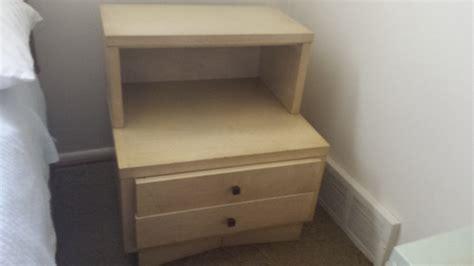 blonde bedroom furniture american of martinsville blonde mahogony dresser value