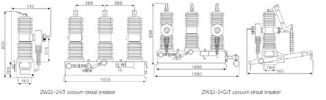 vacuum circuit breaker diagram circuit and schematics