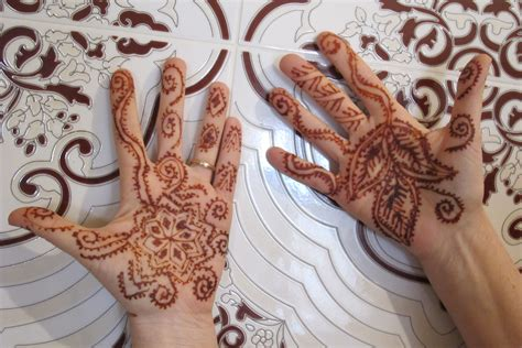 henna tattoo process beyond the to in morocco s