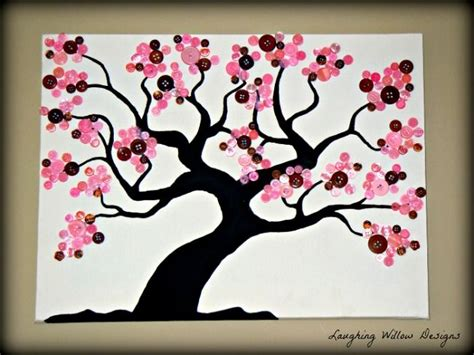 diy crafts for home decor button tree crafts 57 best artwork images on creative ideas paper and canvas ideas