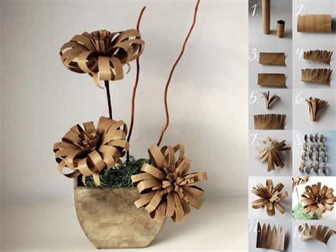diy toilet paper roll flowers fabdiy