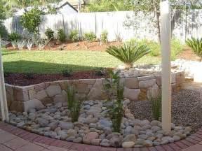 River Rock Garden Ideas River Rock Garden Edging The Interior Design Inspiration Board