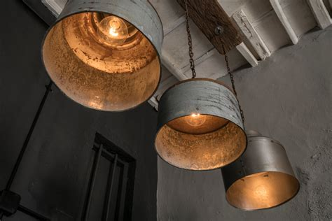 Rustic Industrial Lighting by Galvanized Light Rustic Industrial Lighting By Eskidenvol2