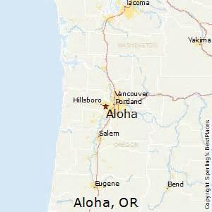 aloha oregon map best places to live in aloha oregon