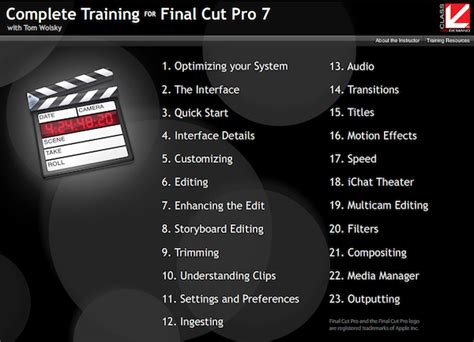 final cut pro classes final cut pro editors get better with class on demand