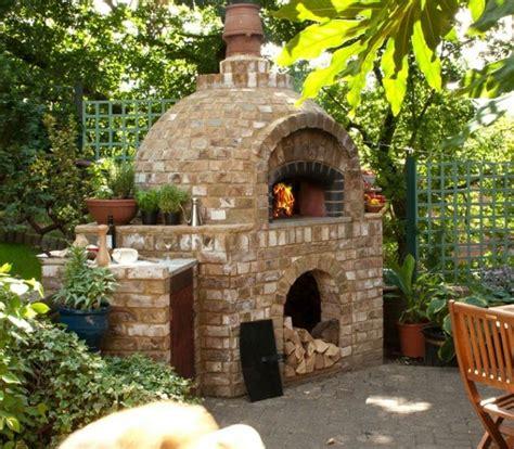 mauerwerk outdoor kamin pläne kohlen pizzaofen holz bodenbelag selber bauen mauern