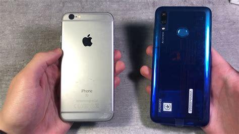 huawei p smart 2019 vs iphone 6s