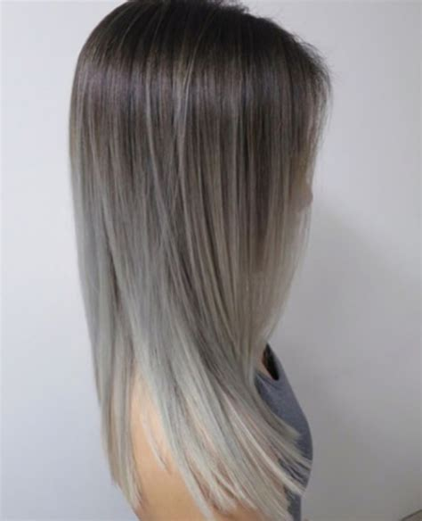 ash gray color ombre ash grey greyhair on instagram of ash grey hair