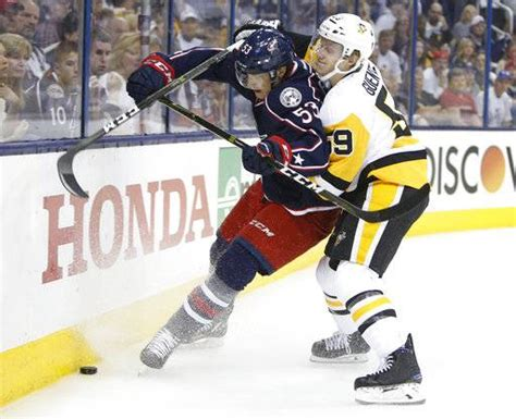 Background Check Columbus Ohio Penguins Beat Blue Jackets 5 4 In Ot To Take 3 0 Series Lead