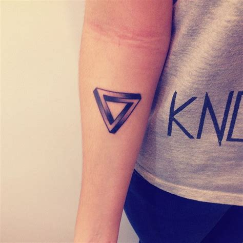 tattoo pen rose penrose triangle tattoo pictures to pin on pinterest