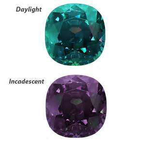 what color is alexandrite cushion cut alexandrite gemstone image