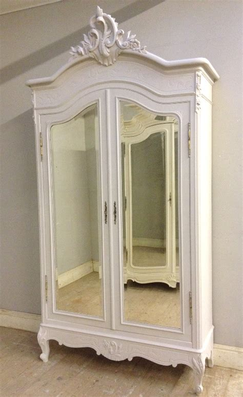 If4167 Antique French Rococo Double Door Armoire