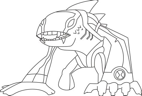 Ben Ten Coloring Pages Free Printable Ben 10 Coloring Pages For Kids