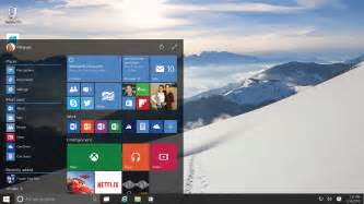 Microsoft s official windows 10 start menu is more steeped in modern