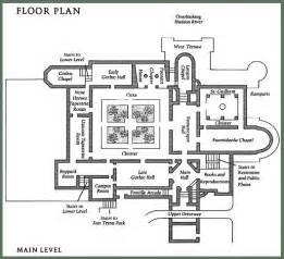monastery floor plan the compleat traveller the cloisters fort tryon park manhattan