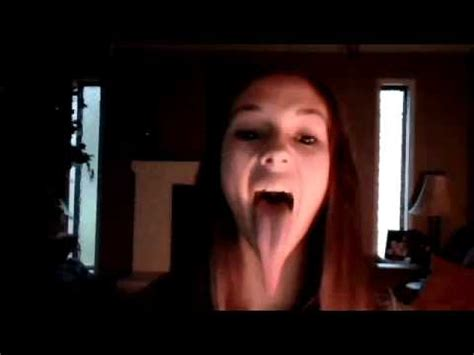 meet the girl with the longest tongue in the world video meet the girl with the longest tongue in the world video