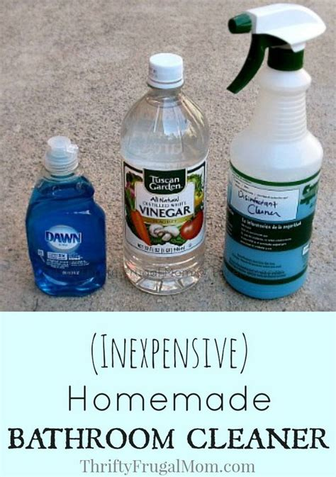 homemade bathroom cleaner recipes best 25 bathroom cleaners ideas on pinterest homemade
