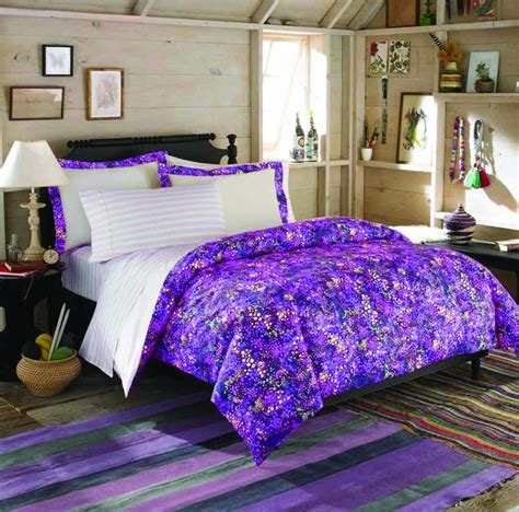 purple teen bedding get teen vogue full queen comforter set for 65 shipped
