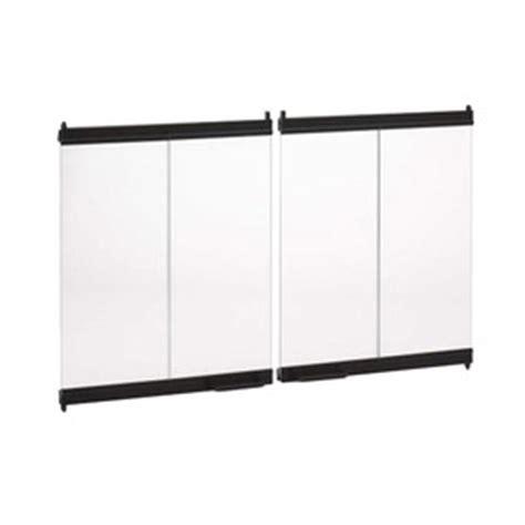 Bi Fold Glass Fireplace Doors by Shop Outdoor Fireplace Bi Fold Glass Door At Lowes