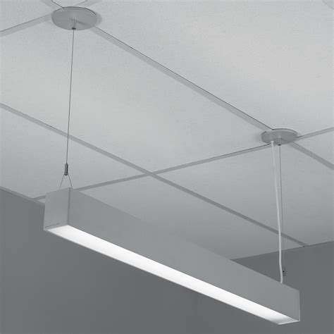 indirect pendant lighting h profile direct indirect lensed pendant by lightolier