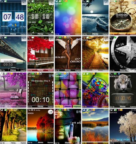 new java themes com free theme download for nokia 206 nth new calendar