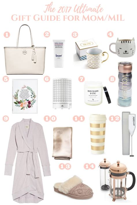 the ultimate gift guide for mom mil mother in law